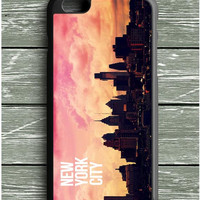 Sunset In New York City iPhone 6S Plus Case