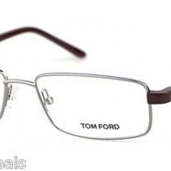 Tom Ford TF5153 Col 014 Silver Metal Eyeglasses Frame 54mm 17mm 140mm Rectangle