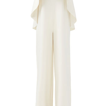 Solace London White Cadenza Jumpsuit