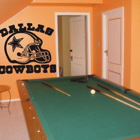 Wall Decal NFL Dallas Cowboys 001 FRST