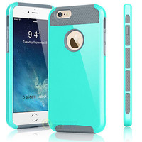 "Shockproof Hybrid Rugged Rubber Cover Case Skin for iPhone 6 6s 4.7"" / 5.5"" Plus"