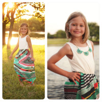 Ivory Aztec Dress - Ryleigh Rue Clothing by MVB