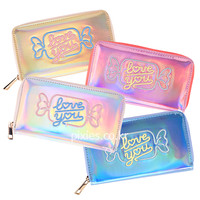 Candy Hologram Wallet