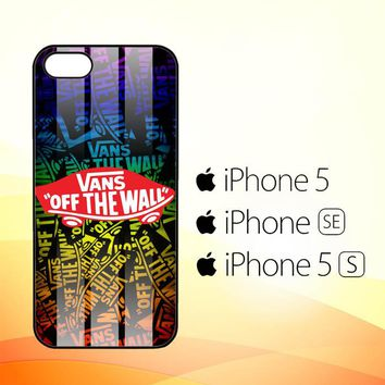 Vans Off The Wall X3256  iPhone 5|5S|SE Case