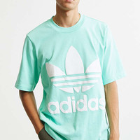 adidas Pastel Green AC Boxy Tee | Urban Outfitters