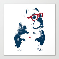 Bulldog Canvas Print by Matt Irving