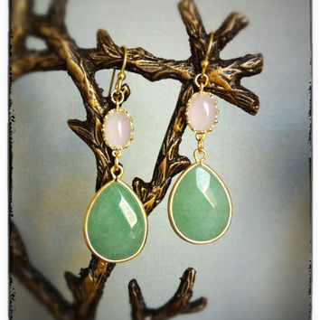 Spring Is In The AirEarrings by labellemoon on Etsy