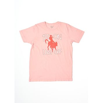 First On Last Off Men's Crew Tee Shirt