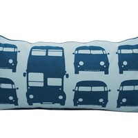 Rectangular cotton kids cushion RUSH HOUR Rush hour Collection by ferm LIVING