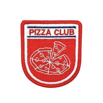Pizza Club Badge Patch