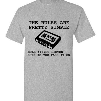 13 Reasons Why: The Rules are Pretty Simple Rule #1 You Listen Rule #2 You Pass It On
