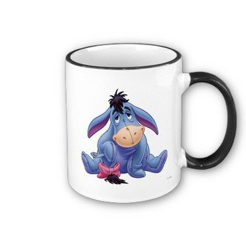 Winnie The Pooh's Eeyore Holding Tail Mug from Zazzle.com