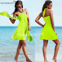 Vintage Designer Hot Convertible 2016 Multi wears infinite Women Summer Beach dresses Swimsuit Bathing Suit Cover Ups Pareo