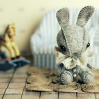Little grey Pierrot by Cakau on Etsy