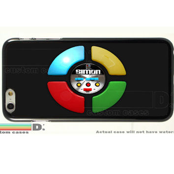 Retro Simon Game, Custom Phone Case for iPhone 4/4s, 5/5s, 6/6s, 6/6s+ and iPod Touch 5