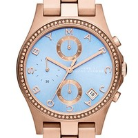 MARC BY MARC JACOBS 'Henry Glitz' Chronograph Bracelet Watch, 37mm