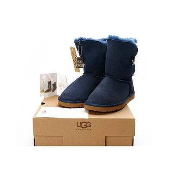 Ugg Boots Black Friday Deals Bailey Button 5803 Lapis For Women 82 07