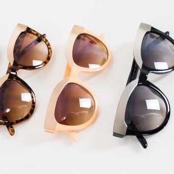 Metal Plate Top Frame Sunnies
