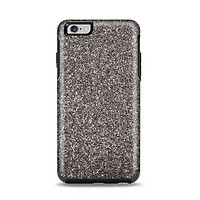 The Black Glitter Ultra Metallic Apple iPhone 6 Plus Otterbox Symmetry Case Skin Set