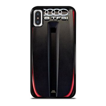 ENGINE AUDI S6 TWIN TURBOCHARGED  iPhone X Case Cover