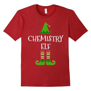 Chemistry Elf - Funny School Teacher Christmas T Shirt