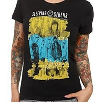 Sleeping With Sirens Photo Girls T-Shirt - 145642