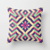 Plural Pattern Throw Pillow by Abstracts by Josrick