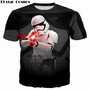Star Wars Force Episode 1 2 3 4 5 PL Cosmos Tshirt Homme Camisetas Hombre Novelty  A New Hope Robot Men T-Shirts Tshirts 3D Print Male Funny Tees 5XL AT_72_6