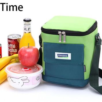 new branded thermal cooler shoulder bag picnic cool lunch picnic box insulated  ice pack thermo food fresh insulation handbags