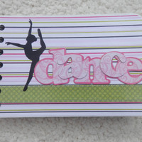 4x6 Dance Chipboard Mini Scrapbook