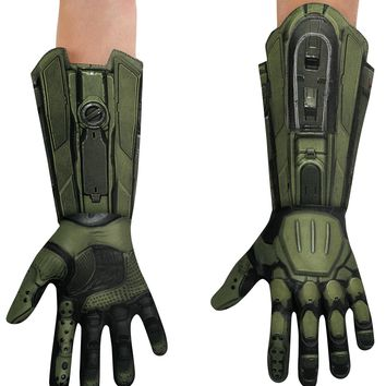 Master Chief Gloves Adult Costume Accessories