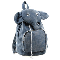 Lovely Elephant Canvas Backpack on Luulla