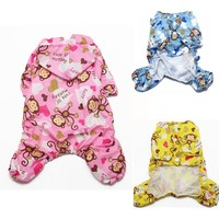 New For NEW Dog Clothes Pet Puppy Hoodie Hooded Rain Coat for Small Dogs Pet Jacket