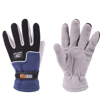 Cycling Gloves Winter Warm Full Finger Sports Riding Motorcycle Ski Snow