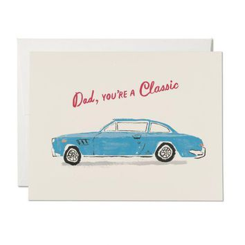 RED CAP CARDS CLASSIC DAD CARD