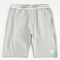 Lrg Rc Mens Sweat Shorts Gray  In Sizes