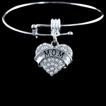 """Mom"" Charm Bracelet 