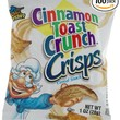 General Mills Cinnamon Toast Crunch Crisps Snack, 1-Ounce Packages (Pack of 100)