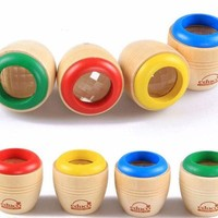 VONC1Y 2016 new Wooden Educational Magic Kaleidoscope Baby Kid Children Learning Puzzle Toy Classic Toys wooden toys hot toy
