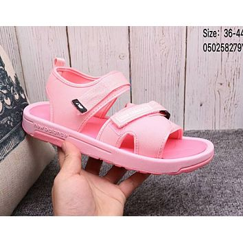 """Hot Sale """"New Balance"""" Fashion Woman Men Leisure Sandals Slipper Shoes Pink I-A36H-MY"""