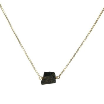 Zeeba Necklace in Black Tourmaline