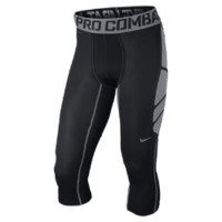 Nike Pro Combat Hypercool Compression 3/4-Length Men's Tights - Black