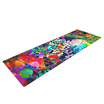 "Ebi Emporium ""Jungle Fever"" Multicolor Yoga Mat"