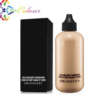 Base 5 Colors Profession brand Makeup Foundation Liquid SPF 15 Cosmetic face body Studio fix fluid liquid Foundation 120ML