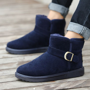On Sale Hot Deal Cotton Shoes Winter Men Boots [9252870220]