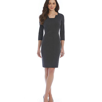 Antonio Melani Mila Stretch Twill Dress | Dillards
