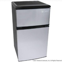 3.1 Cu. Ft. Fridge Freezer Stainless Steel - EdgeStar