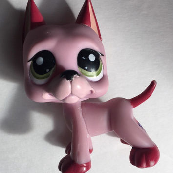 Littlest Pet Shop Great Dane Dog