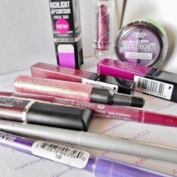 Purples - Lot of 10 HARD CANDY / Styli Style & more Makeup Items  Lot C03