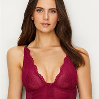 Gossard Longline Front-Close Plunge Bra 7718 at BareNecessities.com